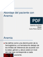 Anemia Equipo