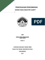 Pencegahan Pence Mar An Industri Sawit