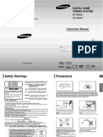 Samsung Surround User Manual