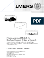 Fatigue Assessment Methods for Reinforced Concrete Bridges in Eurocode