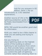 IEC 62305 2nd Edition