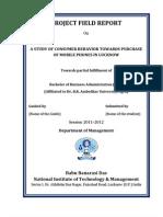 Project Field Report