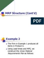 Üretim 8.2-MRP Structure