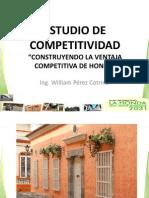 Resumen Estudio Competitividad Honda 2012