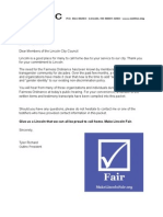 Fairness Ordinance Hearing Packet