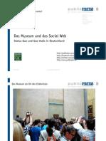 """""""Das Museum und das Social Web. Status Quo und Quo Vadis in Deutschlan"""". Vortrag bei der 14. Social Media Night in Stuttgart"""