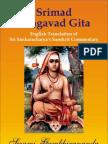 17299929 Srimad Bhagavad Gita Shankara Bhashya English