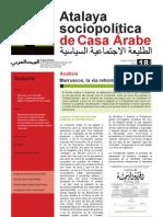 Casa Árabe - Atalaya Sociopolítica 18
