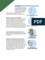 Temperature Measurement Sensors