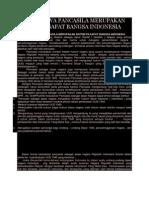 Bukti Bahwa Pancasila Merupakan Sistem Filsafat Bangsa Indonesia