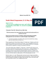 Youth Week Programme 2012
