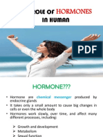The Role of Hormones