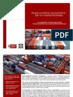 Trade Logistics Facilitation Key to Competitiveness