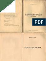Cantece de Acasa (Ciclu Basarabean -Neculai v. Coban