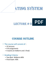 OS Lecture-01 (Intro.)