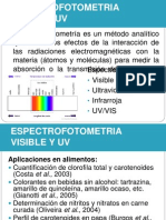 Espectrofotometria Visible y Uv