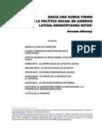 Klikberg, políticas sociales