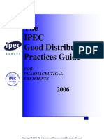 2006 the IPEC Good Distribution Practices Guideline
