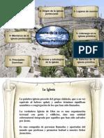 1er período - La Iglesia Apostolica - La iglesia pentecostal
