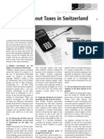 Ten Myth About Taxes in Switzerland
