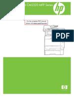 Hp Clj Cm2320 Mfp Manual Toc