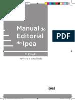 Manual do Editorial Ipea 2ª Edição