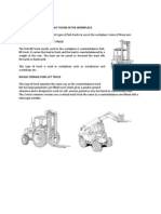Vehicle Operations - Forklift