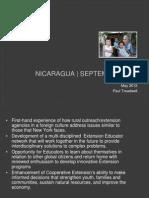 Nicaragua September 2012 for Extension Educators