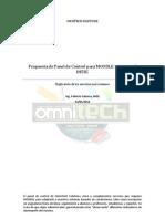 INTEC- Propuesta Del Panel de Control