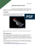 Boundary Layer Fluent 2005