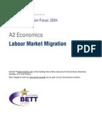 A2 Labour Market Migration