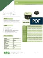 CM400 Cable Datasheet