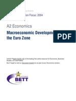 A2 Macro Economic Developments in the EuroZone