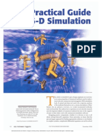 A Practical Guide to 3-D Simulation