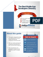 Mobile App Developers Guide