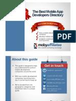 Mobile App Developers Guide