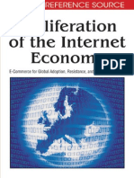 Proliferation of the Internet Economy