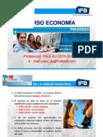 1ra Sesion Economia Ifb