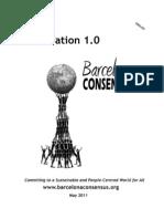Barcelona Consensus Declaration