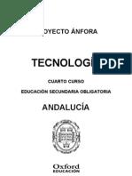 Programacion Anfora Tecnologia 4 ESO Andalucia