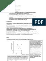 Economics Revision Chapter 1 - 12