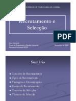 Recrutamento e Selecção.ppt