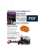 Russian Revolution Day School a5