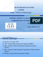 ECGC Export Credit Guarantee Corp of India Summer Training