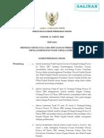 Peraturan KPU No 13 Tahun 2010 an