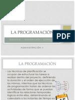 La Programacion Adm