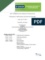 2011 Faseb Src Program 1-3-11