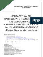 Comparativa Bach Tec y Asignaturas Carreras Universidad[1]