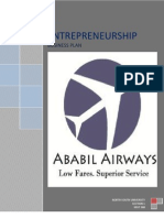 Business Plan of Budget Airline Company