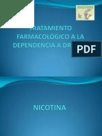 TRATAMIENTO FARMACOLÓGICO A LA DEPENDENCIA A DROGAS